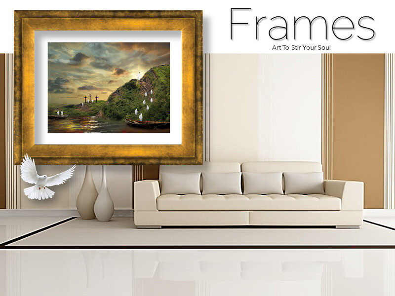 Ascension of The Man of Galilee Frames