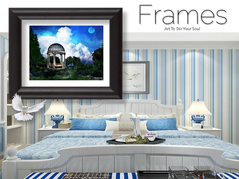 A Place of Prayer III Frames