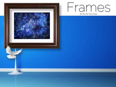 Blue Coordinates Frames