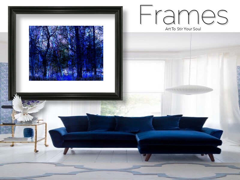 Blue Thicket Frames