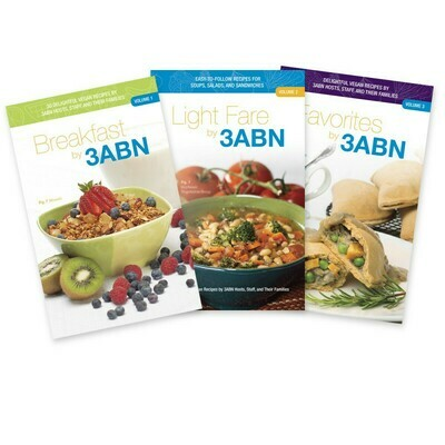 3ABN Plant-Based Cooking Variety Pack