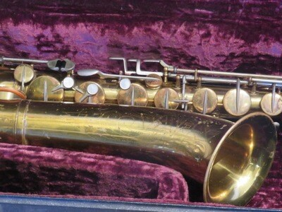 Martin Imperial Tenor Saxophone 1933