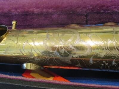 Beuscher Soprano Saxophone 1925
