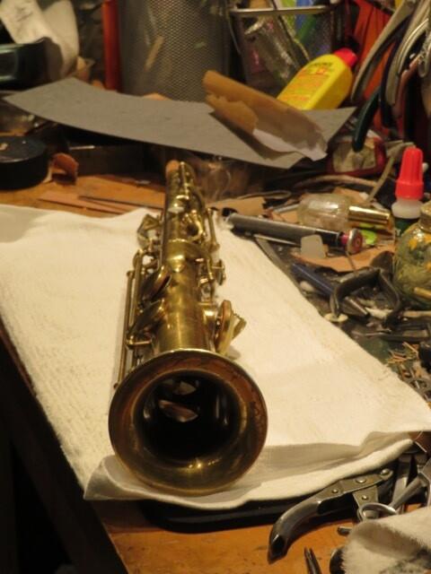Conn C Soprano Saxophone 1923