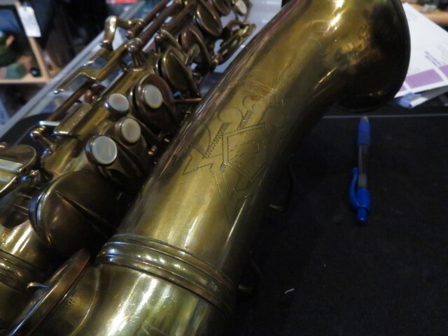 "Conn ""Lady on the Bell"" Alto Saxophone"