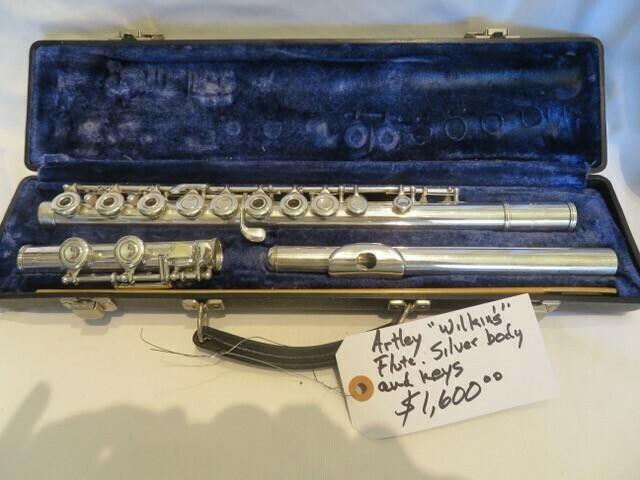 Artley Wilkins Flute