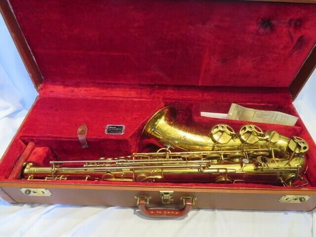 Selmer Balanced Action Tenor Saxophone 1937
