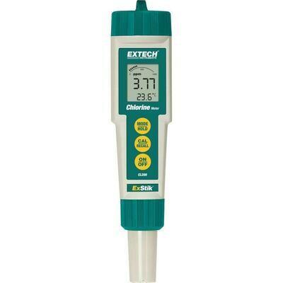 Chlorine Meter, Extech ExStik®, Waterproof, Total Chlorine Pen