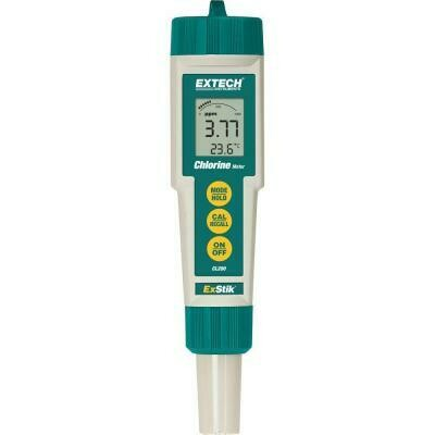 Conductivity/pH Meter, Extech ExStik II®, Measures pH, Conductivity, Temperature, TDS, and Salinity