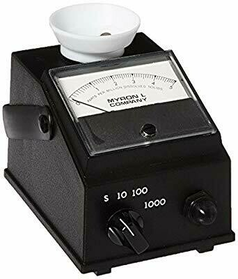 Conductivity Meter, Myron L Analog Meter, EP-10 (0-10, 0-100, 0-1000, 0-10,000 µM)