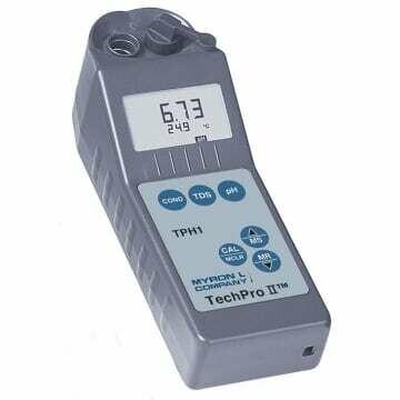 Conductivity, TDS, pH & Temperature Meter, Myron L, Techpro II™ TPH1