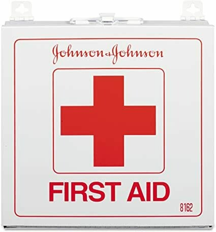 First Aid Kit, Johnson & Johnson, Supplies to Serve 50 people