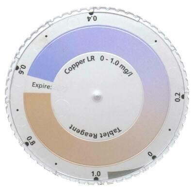 Copper LR, (Free) Color Disc (0-1.0 ppm)