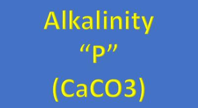 Water Analysis, Alkalinity,