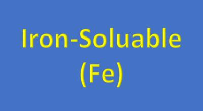 Water Analysis, Iron-Soluble, (Fe)