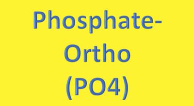 Water Analysis, Phosphate-Ortho (PO4)