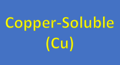 Water Analysis, Copper-Soluble, (Cu)