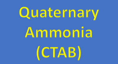 Water Analysis, Quaternary Ammonia, (CTAB)