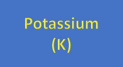 Water Analysis, Potassium (K)