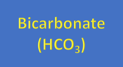 Water Analysis, Bicarbonate (HCO₃)