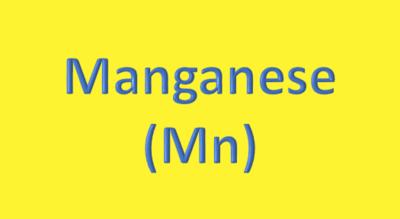 Water Analysis, Manganese (Mn)