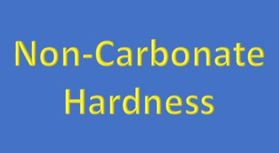 Water Analysis, Non-Carbonate Hardness