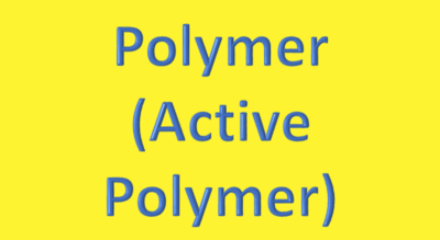 Water Analysis, Polymer, (Active Polymer)