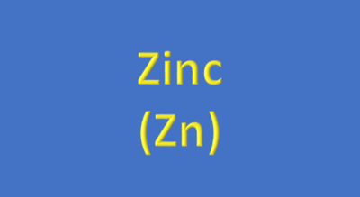 Water Analysis, Zinc, (Zn)