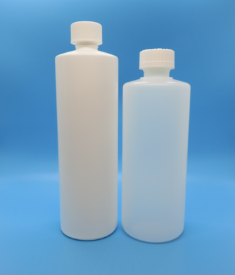 Bottle, Plastic, Pint (16 oz), Narrow Mouth (28 mm)
