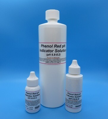 Phenol Red pH Indicator Solution (6.8-8.2)