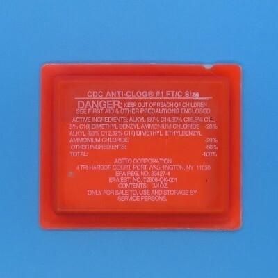 Anti-Clog, FT/C-Treats up to 5 Tons (144 units per case)