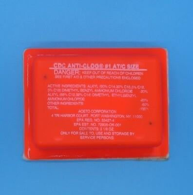 Anti-Clog, AT/C-Treats up to 15 Tons (72 units per case)