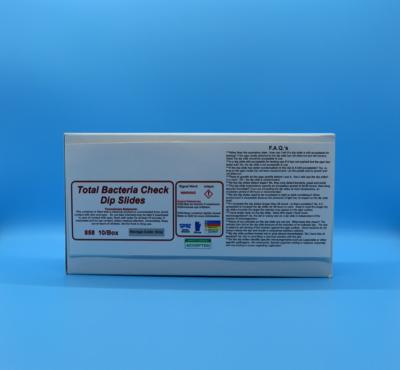 Total Bacteria Check Dip Slides (10 units per box)