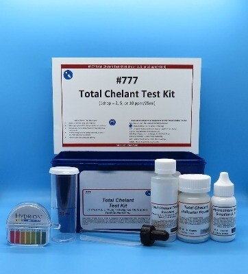 Chelant, Total Test Kit, Eyedropper Dispenser