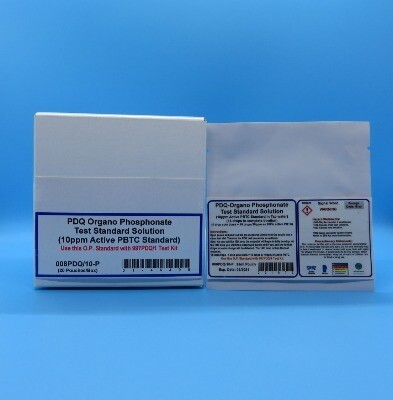 PDQ Organo Phosphonate Test Standard Solution (20 Pouches/Box)