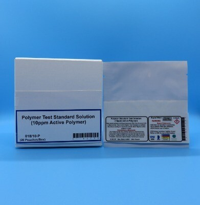Polymer Standard Test Solution (10 ppm Active Polymer) (20 Pouches/Box)