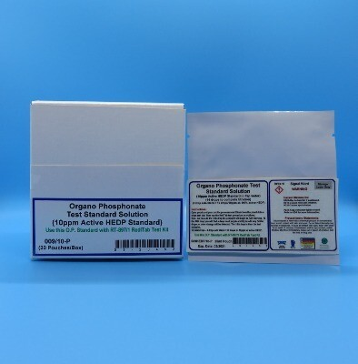 Organo Phosphonate Test Standard Solution (20 Pouches/Box)