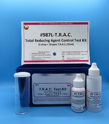 T.R.A.C. Test Kit, Total Reducing Agent Control, OptiDrop Bottle
