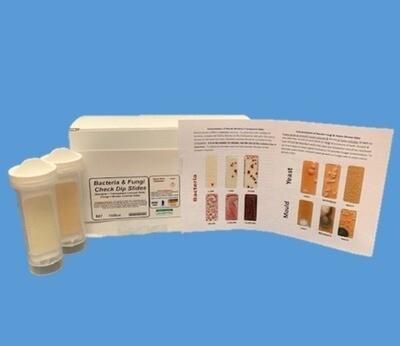 Bacteria & Fungi Check Dip Slides (10 units per box)