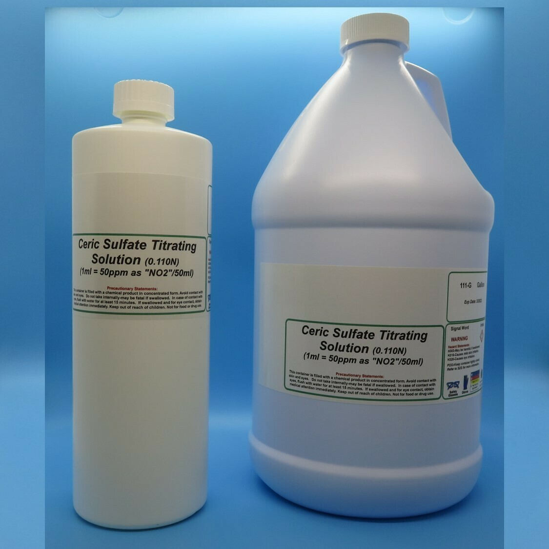 Ceric Sulfate Titrating Solution (0.11N)  (1 ml=50 ppm NO2/50 ml)