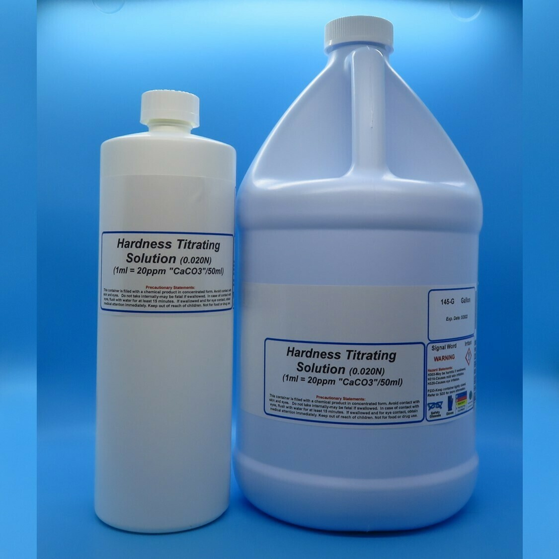 Hardness Titrating Solution (1 ml = 20 ppm CaCO3/50 ml)