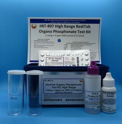 RediTab Organo Phosphonate Test Kit, OptiDrop Dispenser