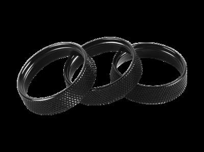 Billet Aluminum Knobs(3pcs)(Black)