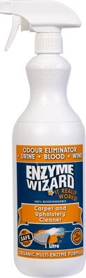 Enzyme Wizard Carpet and Upholstery Cleaner 1lt