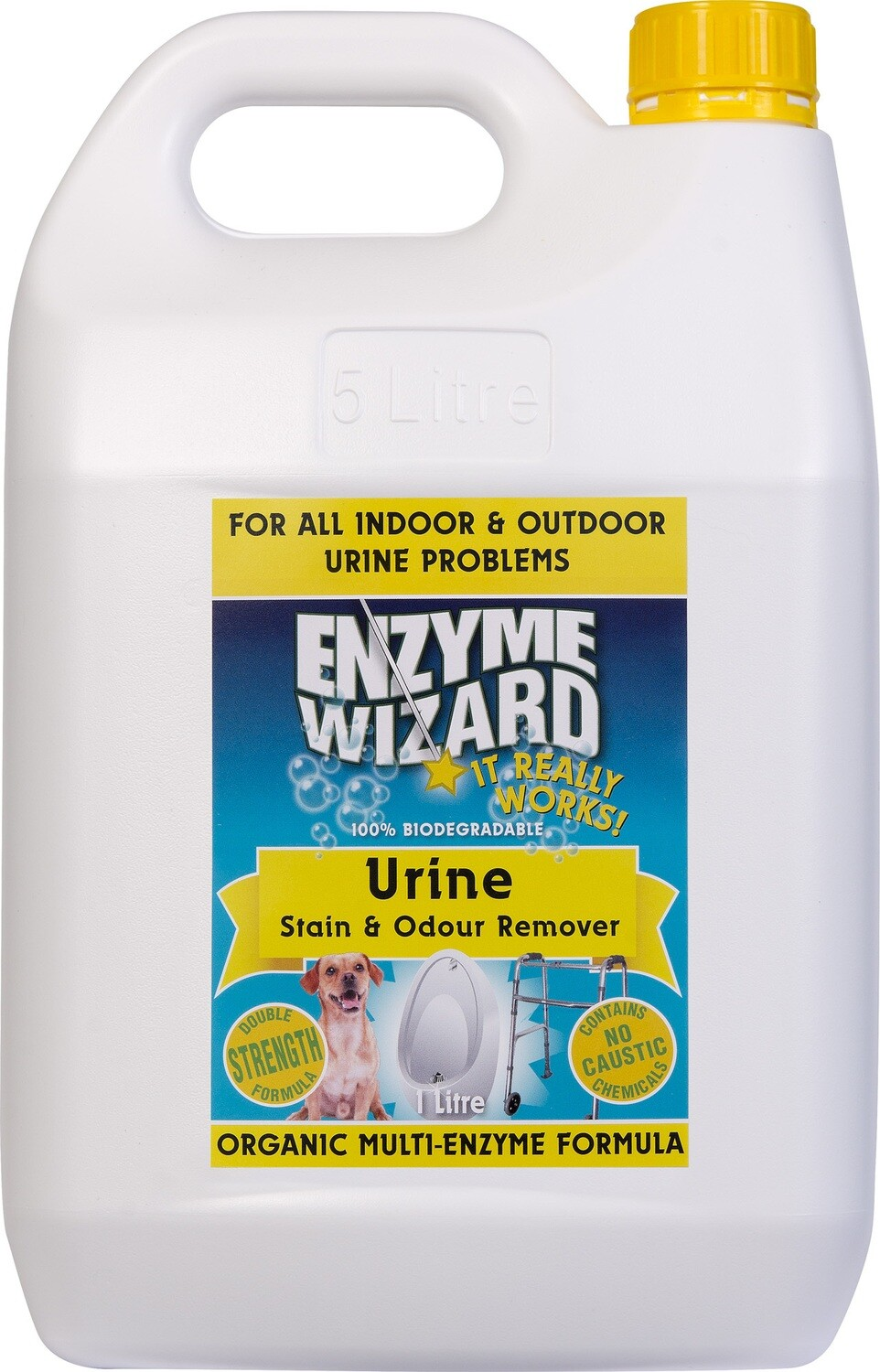 Enzyme Wizard Urine Stain & Odour Remover 5 lt