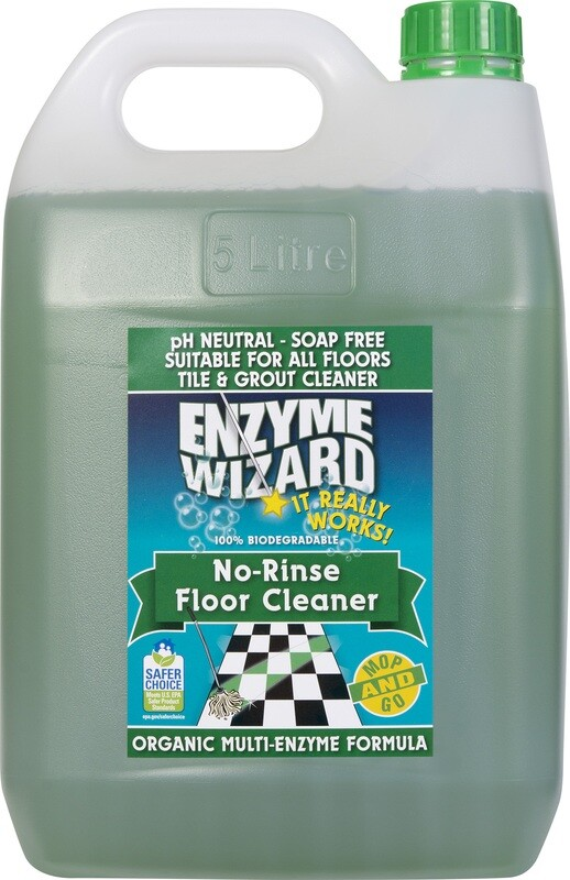 Enzyme Wizard No Rinse Floor Cleaner 5 LT