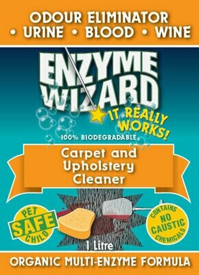 Enzyme Wizard Carpet and Upholstery Cleaner 5Lt