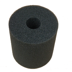 Ducted replacement foam filter