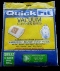 Dustflo vacuum bag QB832