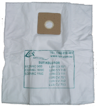 Lux vacuum bags ducted